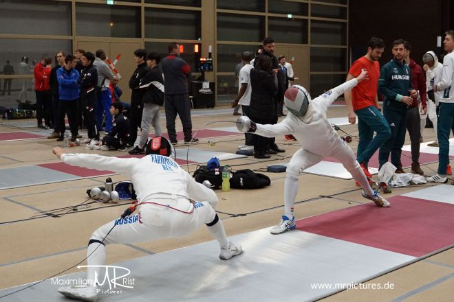 Vor-Tableu (256-, 128-, 64- KO)- Heidenheimer Pokal (World Cup Epee Men Senior)