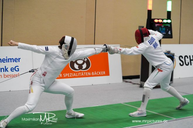 32er Tableau - Team GERMANY vs Team MOROCCO; Voith Cup 2020 (Team World Cup Epee Men Senior)