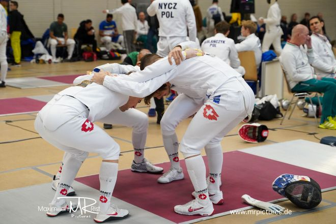 16er Tableau Team GERMANY vs Team SWITZERLAND - Voith Cup 2020 (Team World Cup Epee Men Senior)