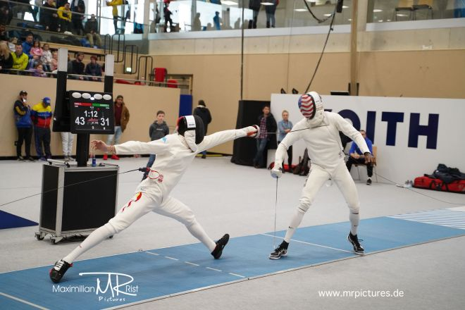 16er Tableau - Voith Cup 2020 (Team World Cup Epee Men Senior)