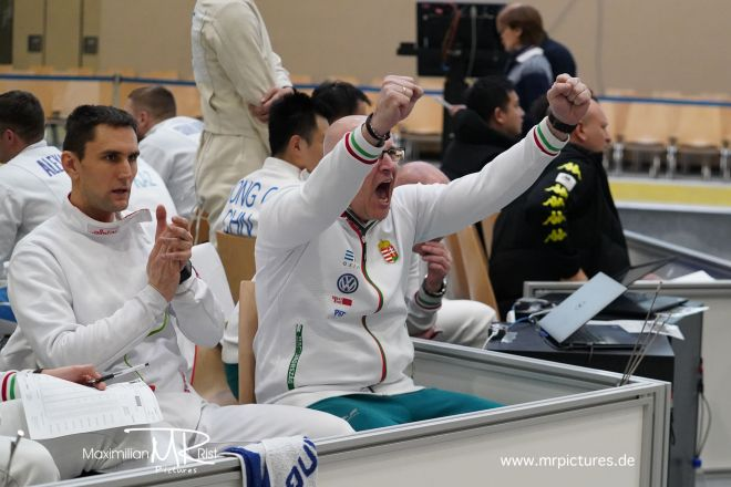 8er Tableau - Voith Cup 2020 (Team World Cup Epee Men Senior)