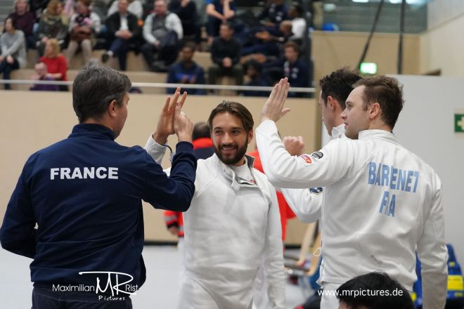Halbfinale - Voith Cup 2020 (Team World Cup Epee Men Senior)