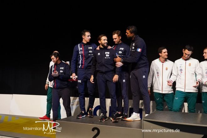 Finale - Team FRANCE vs HUNGARY; Voith Cup 2020 (Team World Cup Epee Men Senior)