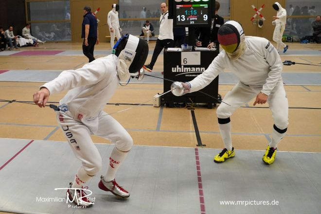 256er Vor-Tableau - Heidenheimer Pokal (World Cup Epee Men Senior)