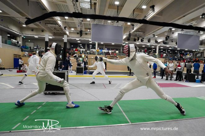 128er Vor-Tableau - Heidenheimer Pokal (World Cup Epee Men Senior)