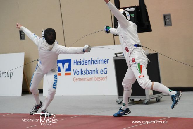 16er Tableau - Coupe d'Europe 2020 (Europe Cup Epee Men Senior)