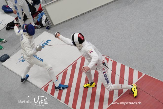 Halbfinale - RUS, ZSK MOSKAU vs ITA, FIAMME ORO ROMA; Coupe d'Europe 2020 (Europe Cup Epee Men Senior)