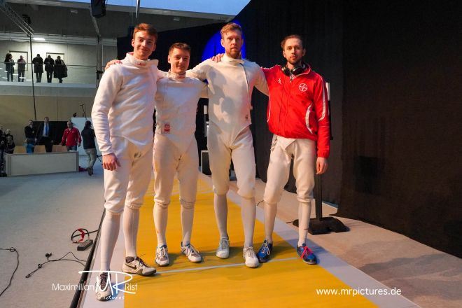 Finale - RGER, BAYER LEVERKUSEN vs ITA, FIAMME ORO ROMA; Coupe d'Europe 2020 (Europe Cup Epee Men Senior)