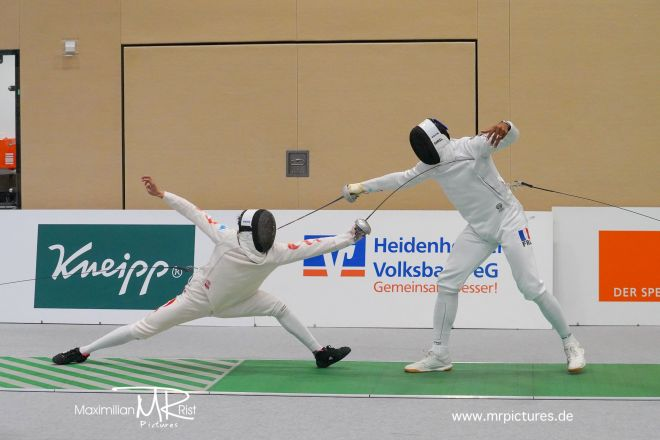 16er Tableau - Heidenheimer Pokal (World Cup Epee Men Senior)